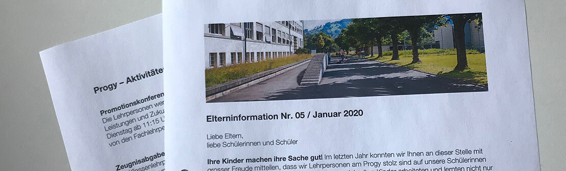 Elternininformationen